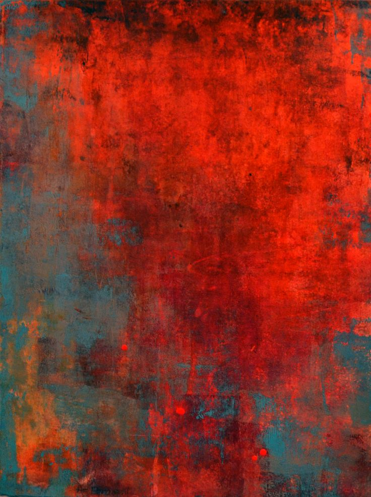 """Óxido Verde,"" acrílico sobre lienzo, 30 x 40 cm"