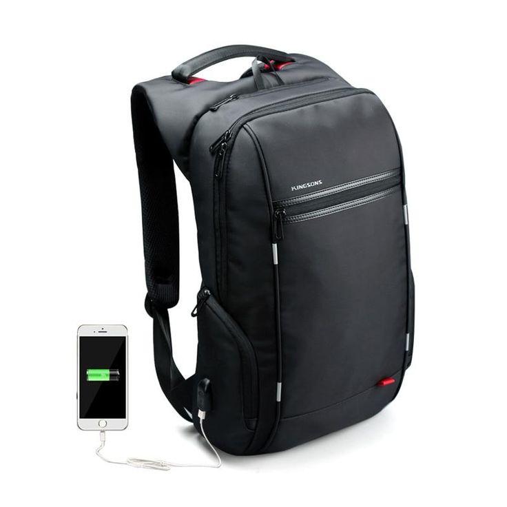 Smart <b>USB Charging Anti</b>-<b>Theft</b> Laptop <b>Backpack</b> в 2019 г.   Lether ...