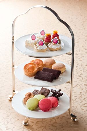 "Afternoon tea set ""Royal style"" of ANA Intercontinental Hotel Tokyo"