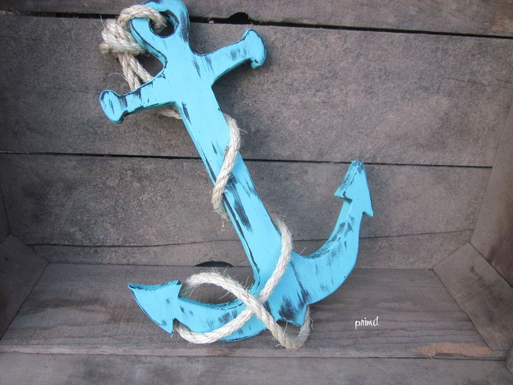 Beach House Decor: Anchor Nautical Home Decor