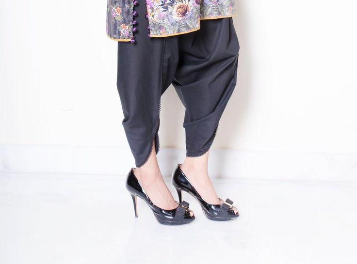 Decent Tulip pant trend style & fashion 2016 pakistani