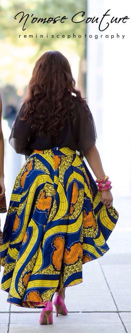La jupe de Ivie High Low par NomoseCouture sur Etsy