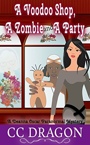 A Voodoo Shop, A Zombie, And A Party - http://www.justkindlebooks.com/voodoo-shop-zombie-party/