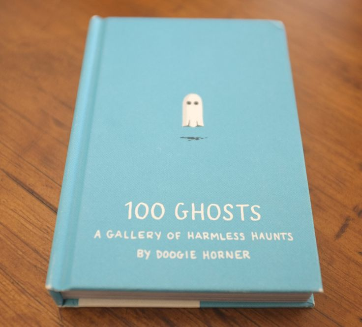 100 Ghosts by Doogie Horner A fun quirky book! #100ghosts #doogiehorner #bookreview  http://www.zincmoon.com/?p=779