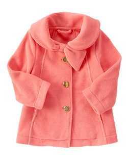 Polar Fleece Swing Coat. I bet I'd have to size up though, Gymboree tends to run small.