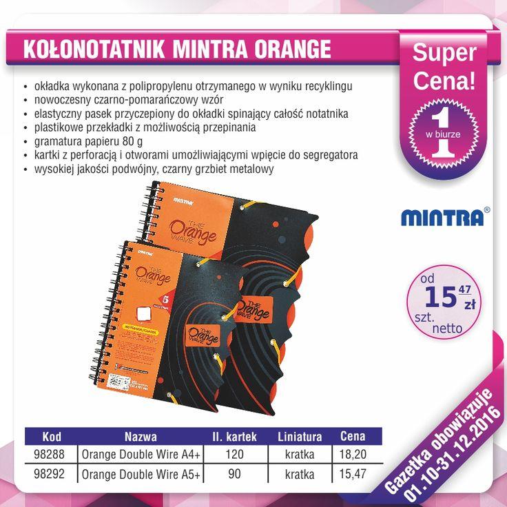 Poznaj nowe kultowe produkty Mintra idealne dla ucznia lub studenta :) http://azbiuro.pl/pl/katalog/az_gazetka_zeszyty