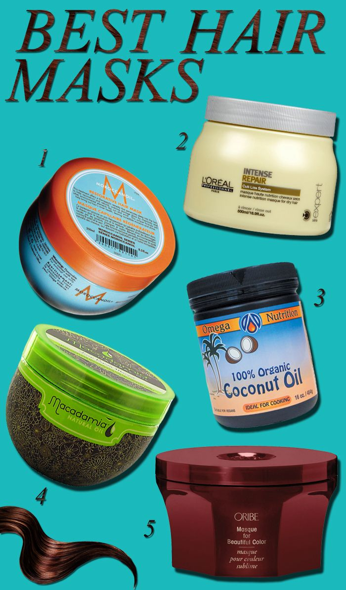 Hair masks for dry split hair ends