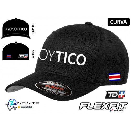 Gorra #YOSOYTICO Flexfit Curva