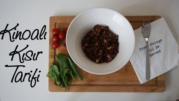 Kinoa Nasıl Pişirilir & Kinoalı Kısır Tarifi - SAĞLIKLI BESLENME / EAT C...