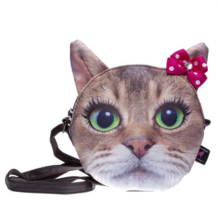 Als je van katten houdt is dit de perfecte tas voor jou! miaaauuuw