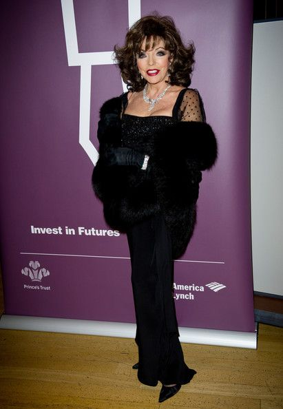 Joan Collins Photos Photos - Joan Collins attends The Princes Trust Invest In Futures Gala Dinner supported by Bank of America Merrill Lynch at the Natural History Museum on February 3, 2011 in London, England. - The Princes Trust At The Invest In Futures Gala Dinner