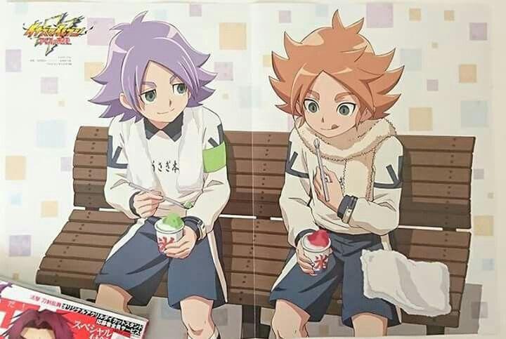 ❀  ~「 Fubuki Shirou and Fubuki Atsuya from Inazuma Eleven Aresno Tenbin ❙ Magazine PASH! ❙ Source ▸ Twitter: @magazine_pash: https://twitter.com/magazine_pash/status/894842780417007616?s=09 」