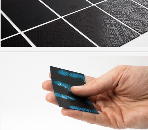 Business Cards - Heat Activated
