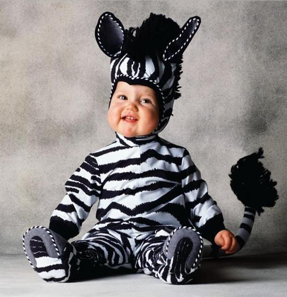 Новогодний костюм зебры для детей
