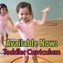 Movement and Dance for Toddlers Ages 18 months – 3 years (Digital Download) 24 week curriculum (6 lessons) with music suggestions, prop ideas, advice on how to manage a room full of toddlers, tips on transitions, and much more. $64.00 USD