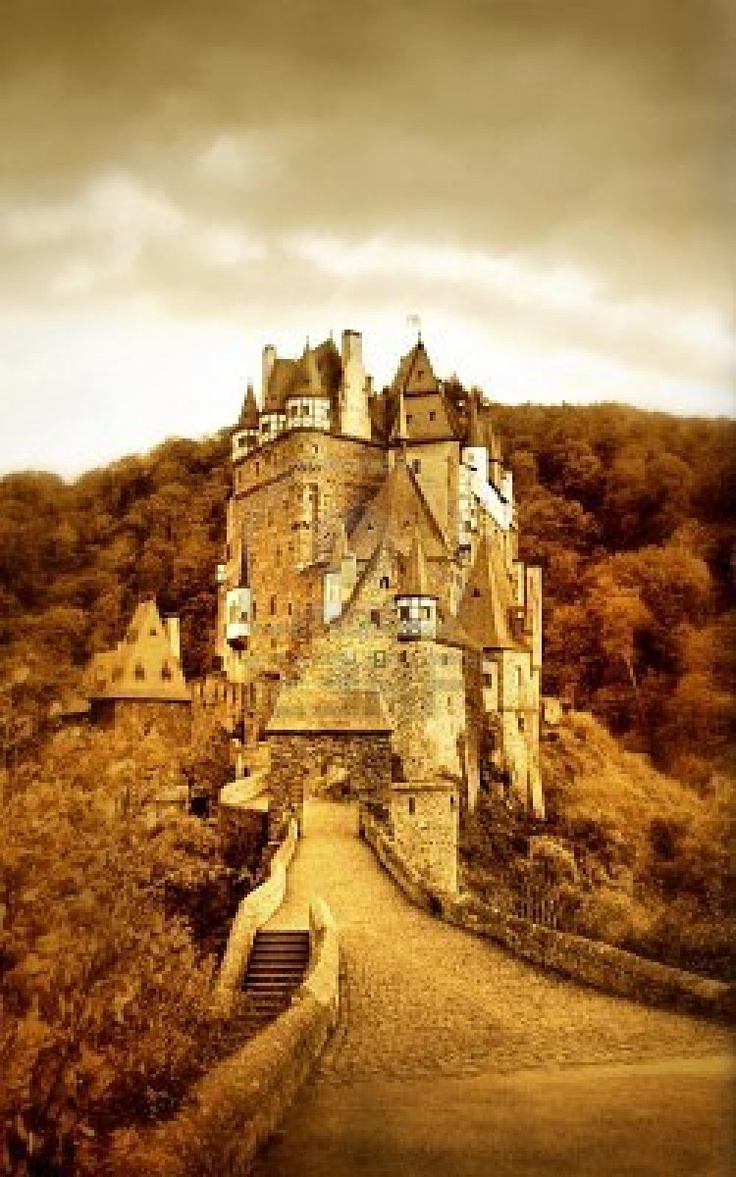 Castle Eltz in Germany. Perfect location for a fantasy film.