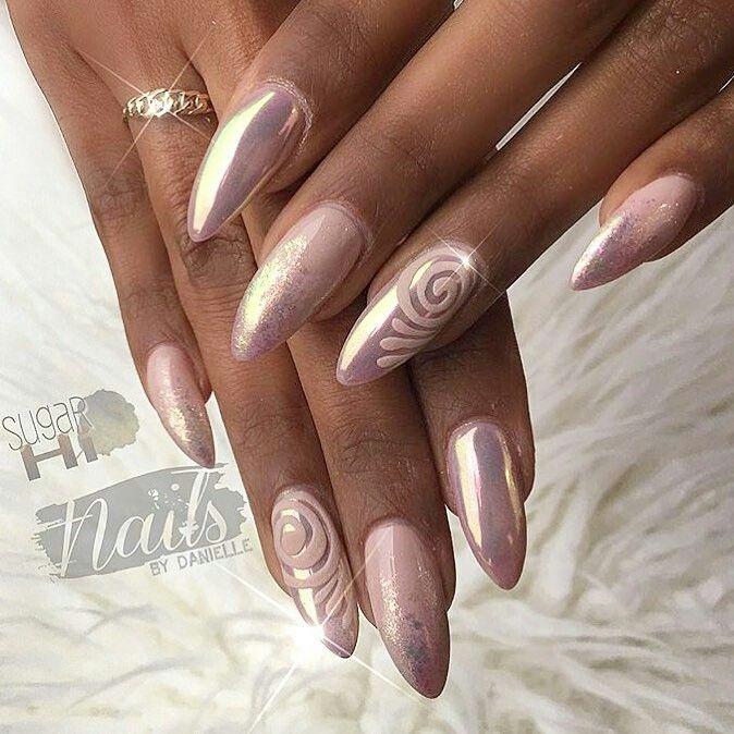 89 (na) pinakamagandang larawan ng indigo nail art sa Pinterest ...