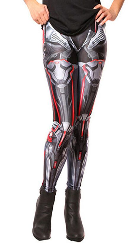 Nouveau produit : Leggings squelette robotique gris bleute avec connectiques rouges robot geek cosplay Vous aimez ? / New product do you like ? Prix: 24.90 #new #nouveau #japanattitude #leggings #cosplay #jeuxvideo #geek #cyborg #robot #cybernetique #droid #synthetique #impression #squelette #gris #rouge #metal #starwars #star #wars #jeux #gamer #cybernetic #synthetic #print #skeleton #gray #red #games