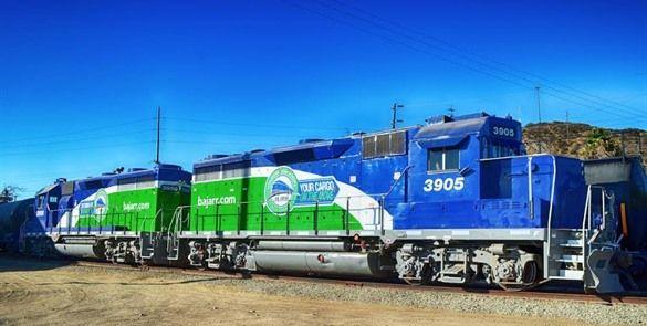 Baja Rail Road modernizan locomotoras de la vía corta