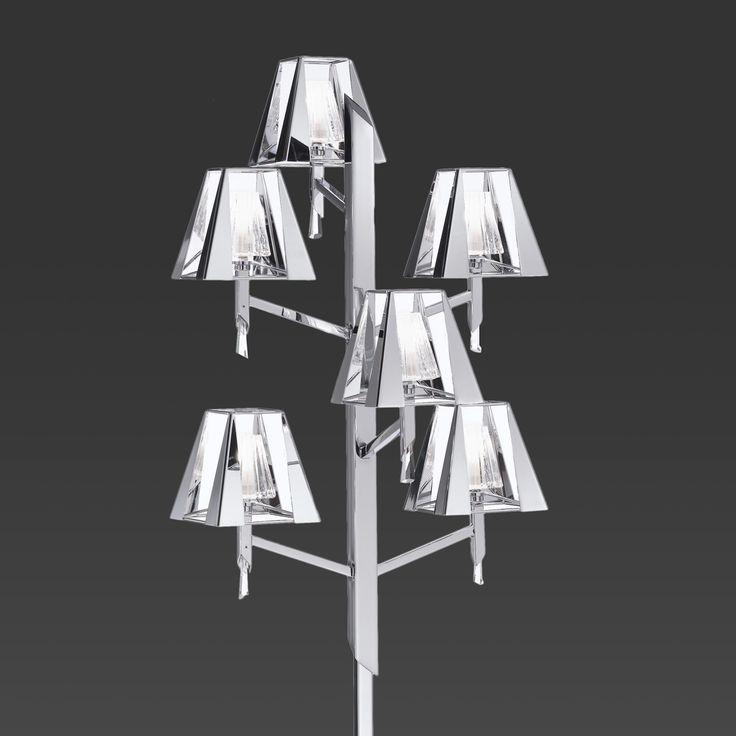 Mehrflammige Stehleuchte Prestige Jetzt bestellen unter: https://moebel.ladendirekt.de/lampen/stehlampen/standleuchten/?uid=29c36b86-7f14-51a6-80c5-cb618791ede0&utm_source=pinterest&utm_medium=pin&utm_campaign=boards #stehlampen #leuchten #lampen Bild Quelle: www.lampenwelt.de