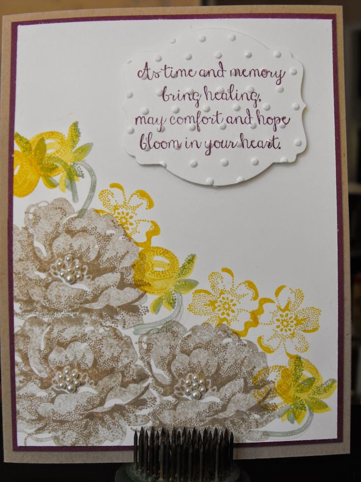 Stamping and other stuff: WCC05 - Color Challenge 2 ( Crumb Cake, Rich Razzleberry, Daffodil Delight)