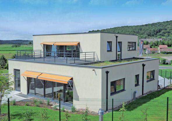 Grande construction passive - Construire Sa Maison En Palette
