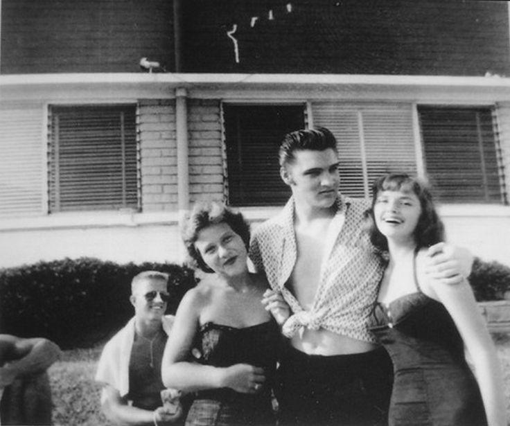 Elvis - August 9, 1956 at the Copacabana Motel and the La Casita,  Daytona Beach, Florida