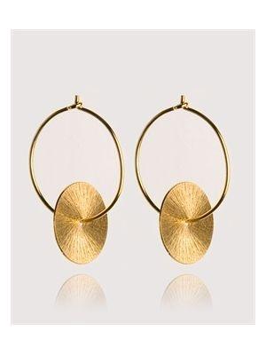Perfectly basics: Kleine oorringen met een ronde hanger van Susanne Friis Bjørner