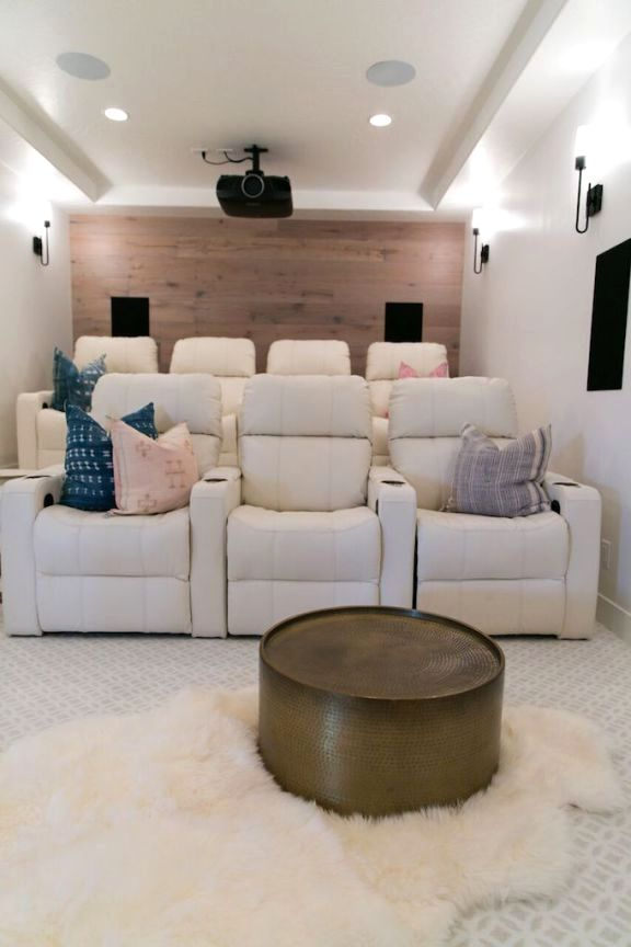Today I Am Sharing Three Examples Of Media Rooms From My Recent Projects That All Have