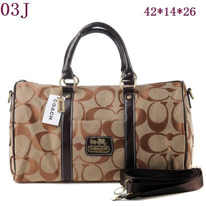 Coach Travel Bag Style Brown 001