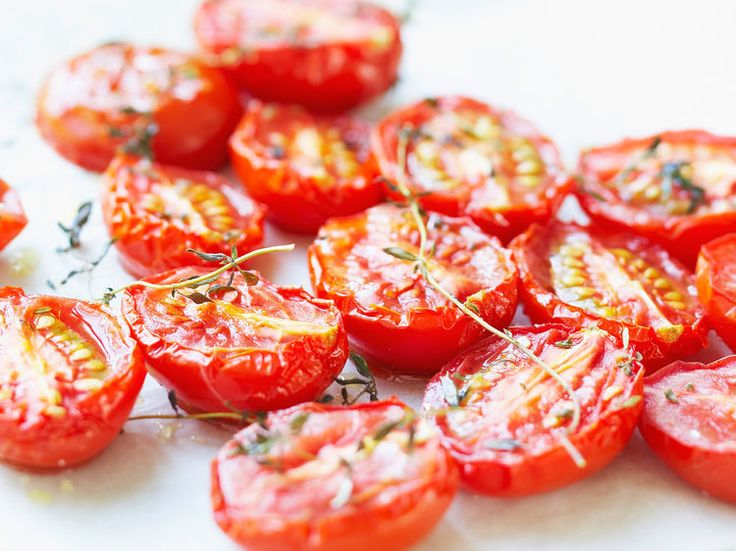 Tomates confites, facile et pas cher