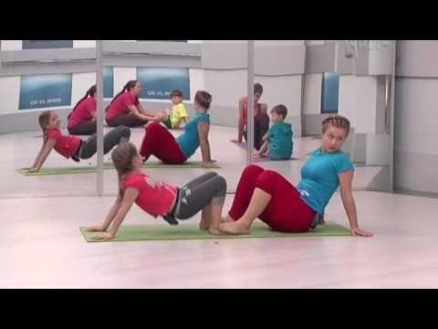 Семейная йога для детей и взрослых,