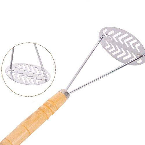 Potato Mashers Emubody Potato Ricers Stainless Steel Vegetable Fruit Crusher Tool 27X10CM >>> You can find out more details at the link of the image.