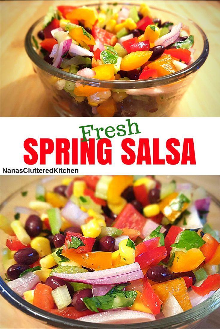 Homemade Salsa  See full recipe on YouTube Channel: https://www.youtube.com/watch?v=R1RLDkHOLhI