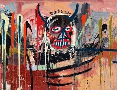 Jean-Michel Basquiat, Untitled, 1982.Photo: courtesy Christie's.