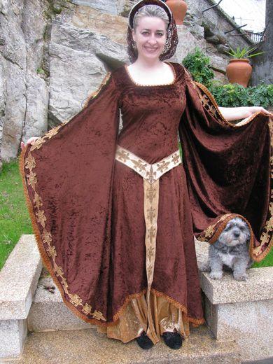 GALICE » Trajes Medievales hechos a mano - Mujer
