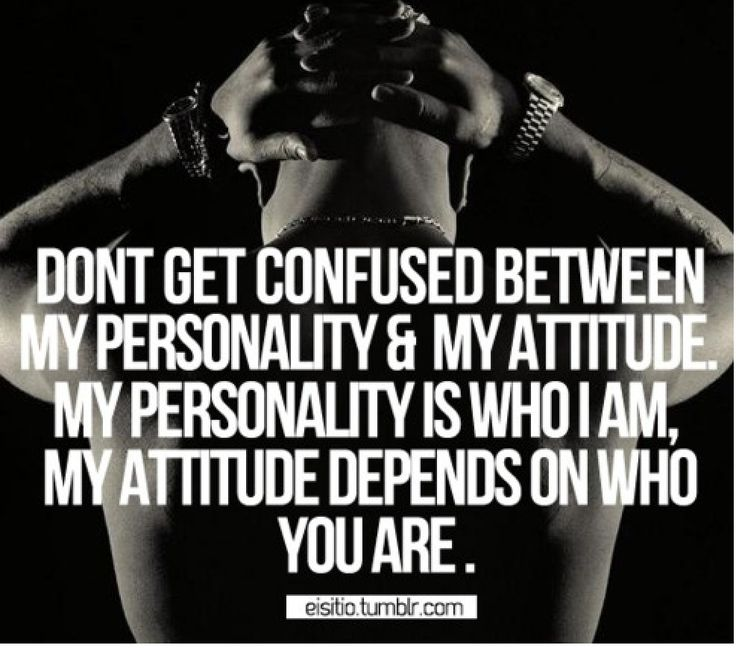 Depends on who you are ~ 2pac
