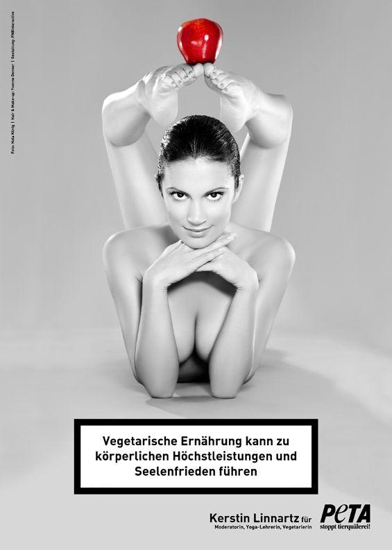 """Kerstin Linnartz: """"Vegetarische Ernährung kann zu körperlicher Höchstleistung und Seelenfrieden führen."""""""