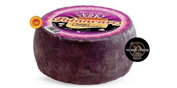 QUESO DE MURCIA AL VINO Para la elaboración de este queso se parte de leche pasteurizada de cabra de raza murciano-granadina. Durante el proceso de curación es sumergido en vino tinto de la zona durante un día, imprimiéndole su carácter único. Posiblemente estas sean las industrias queseras que han adaptado con mayor éxito los últimos avances técnicos sin renunciar a la tradición. http://www.porprincipio.com/comprar-queso/72-murcia-vino.html#