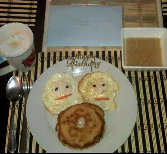 Birthday Breakfast♡♡♡