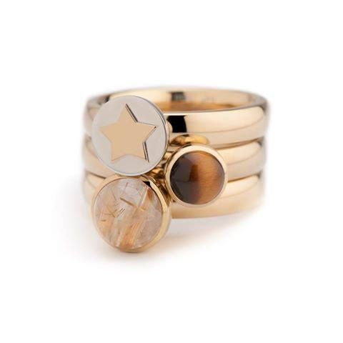 Set of rings in the Twisted collection from MelanO