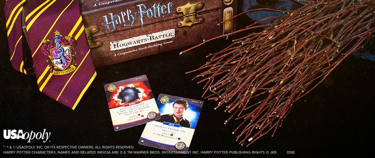 Enter to win,the Harry Potter Hogwarts Battle games.