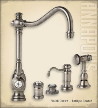 Annapolis Suite by Waterstone traditional kitchen faucets