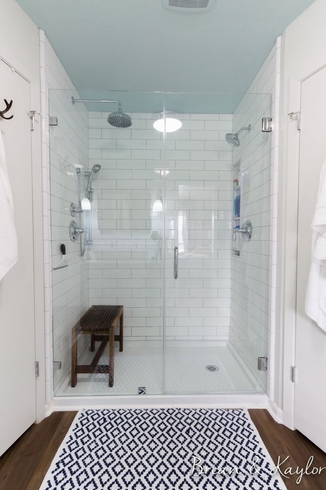 Brian & Kaylor Master Bathroom Reveal #DIYlikeaboss