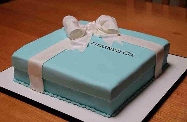 Tiffany's Cake!