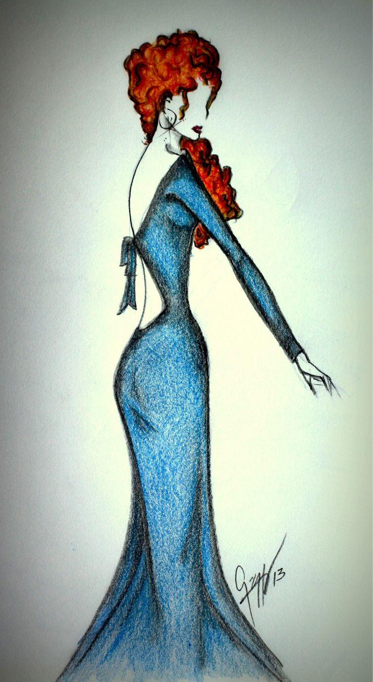 Dibujos De Moda- Bocetos De Moda