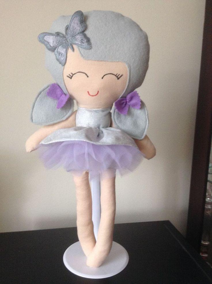 Handmade Silvie Doll Fairy frost dress with Lilac Tutu skirt