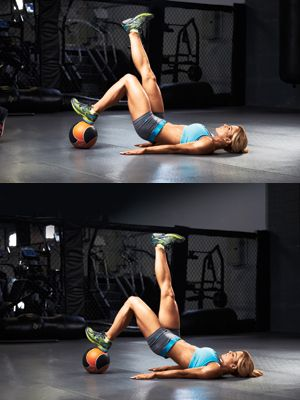 One of my go to moves for Legs.  Muscle and Fitness Hers