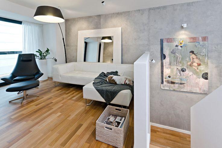 OOOOX | CORNLOFT - living room and Dasa dog