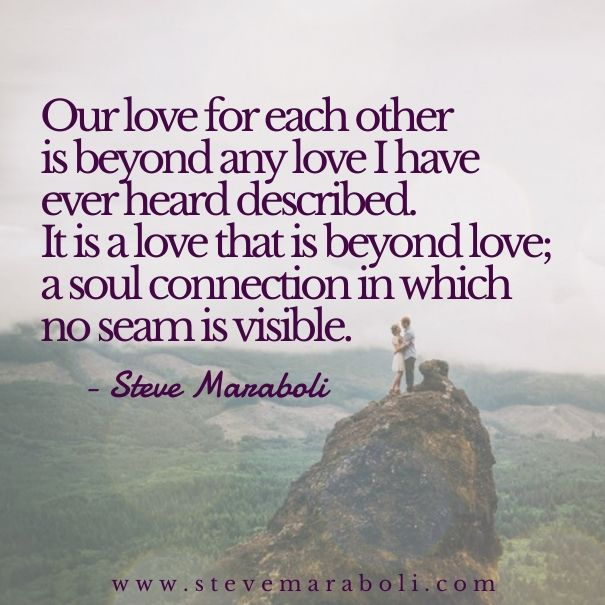 our love for each other is beyond any love i have ever